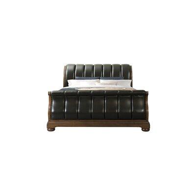 Alvina Upholstered Sleigh Bed