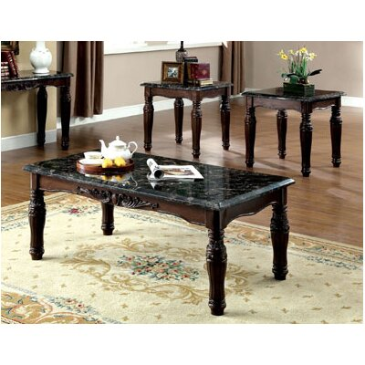 Arcadia 3 Piece Coffee Table Set