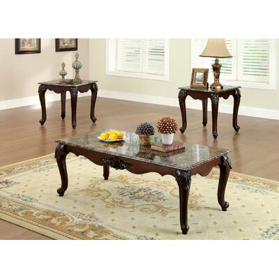 Atlanta 3 Piece Coffee Table Set
