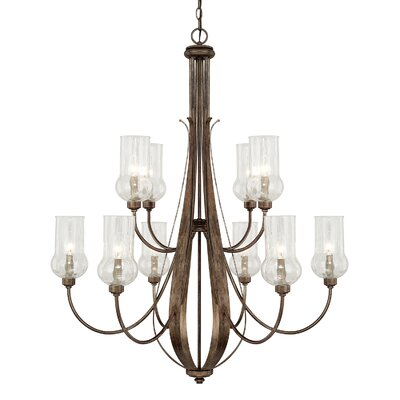Lea 10-Light Candle-Style Chandelier