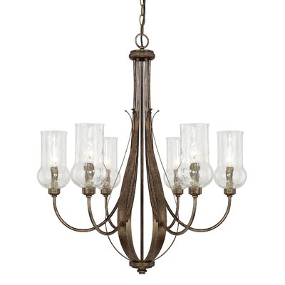 Lea 6-Light Candle-Style Chandelier