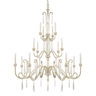 Balone 16-Light Candle-Style Chandelier