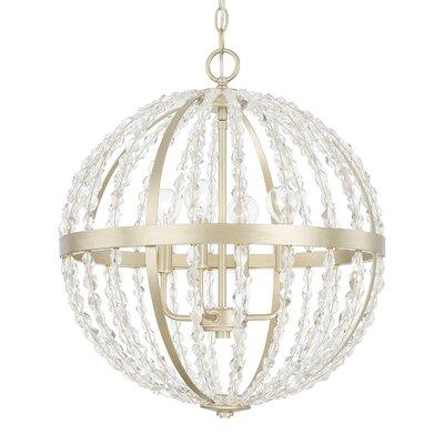 Balamine 4-Light Globe Pendant