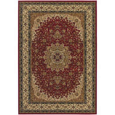 Belcourt Royal Kashan Red/Brown Area Rug Rug Size: 710 x 112