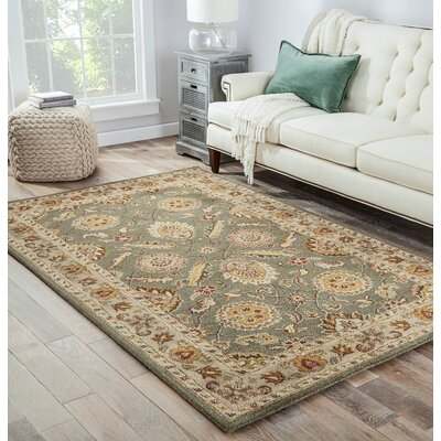 Aldina Tufted Wool Rug Rug Size: Runner 26 x 8