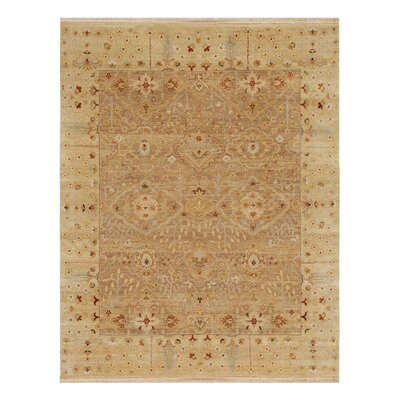 Houx Oatmeal / Soft Gold Oriental Rug Rug Size: Rectangle 2 x 3