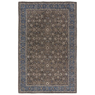 Hannah Hand-Tufted Rutabaga/Chocolate Chip Area Rug Rug Size: Rectangle 5 x 8