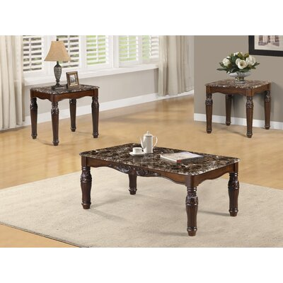 Mckenny 3 Piece Coffee Table Set