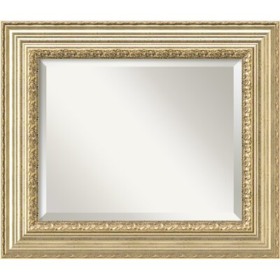 Rectangle Champagne Wall Mirror