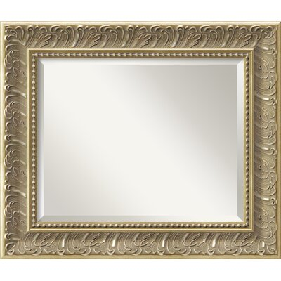 Rectangle Silver/Gold Wall Mirror