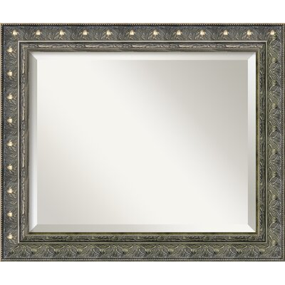 Horizontal Rectangle Beige Wall Mirror
