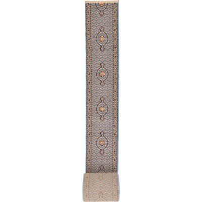 Layton Blue Area Rug Rug Size: Runner 27 x 10