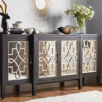 Beesley Sideboard Color: Black