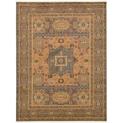 Laurelwood Blue Area Rug Rug Size: Rectangle 9 x 12