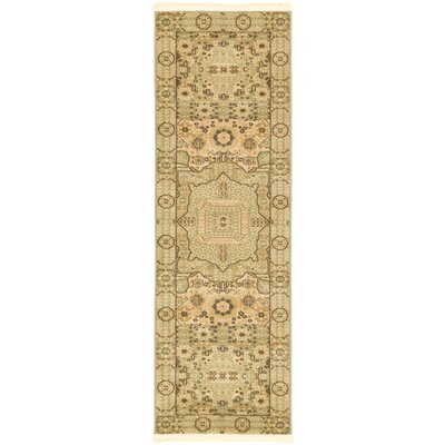 Laurelwood Beige Area Rug Rug Size: Runner 2 x 6