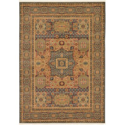 Laurelwood Blue Area Rug Rug Size: Rectangle 7' x 10'