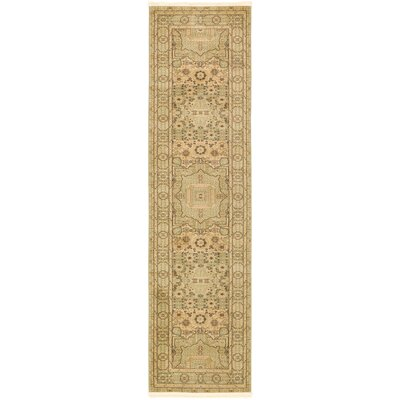 Laurelwood Beige Area Rug Rug Size: Runner 27 x 10