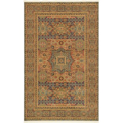 Astoria Grand Laurelwood Blue Area Rug