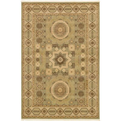 Laurelwood Brown Area Rug Rug Size: Rectangle 6 x 9