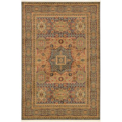 Laurelwood Blue Area Rug Rug Size: Rectangle 6' x 9'