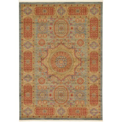 Laurelwood Red/Beige Area Rug Rug Size: 7 x 10
