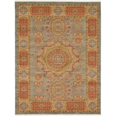 Laurelwood Red/Beige Area Rug Rug Size: 9 x 12