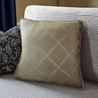 Bedford Decorative Throw Pillow Color: Gold