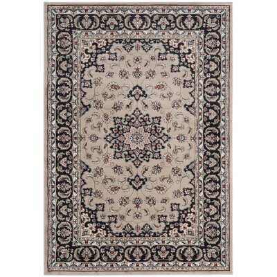 Taufner Cream/Anthracite Area Rug Rug Size: Rectangle 811 x 12