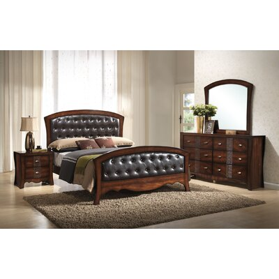 Merrill Upholstered Panel Bed Size: Queen