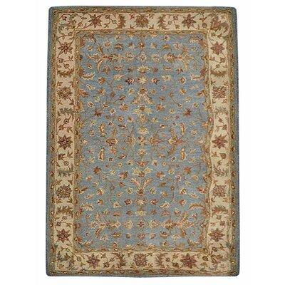 Dodgson Vintage Hand-Tufted Wool Blue/Beige Area Rug Rug Size: 8 x 10