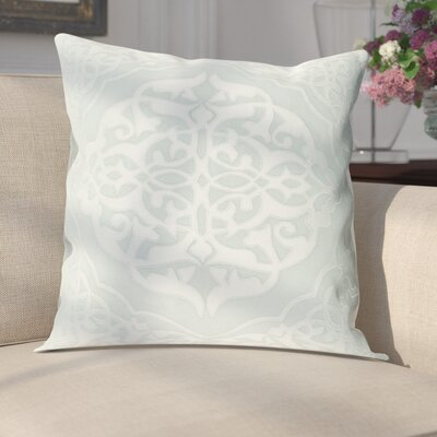 Cruz Pillow Cover Size: 18 H x 18 W x 1 D, Color: Green/Blue