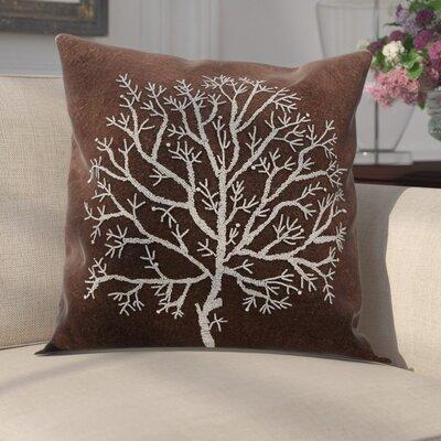 Bascomb Throw Pillow Color: Brown