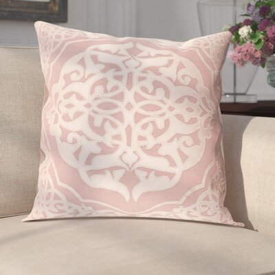 Cruz Pillow Cover Size: 20 H x 20 W x 0.25 D, Color: Pink