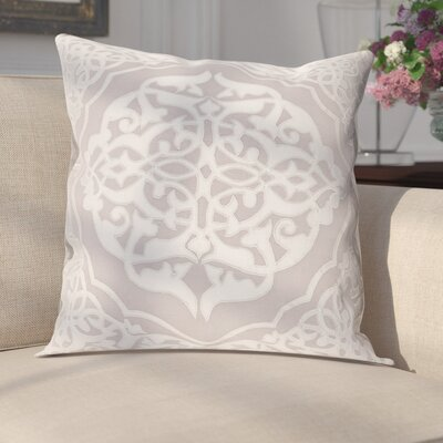 Cruz Pillow Cover Size: 18 H x 18 W x 1 D, Color: Gray