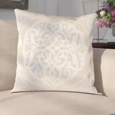 Cruz Pillow Cover Size: 22 H x 22 W x 1 D, Color: Neutral
