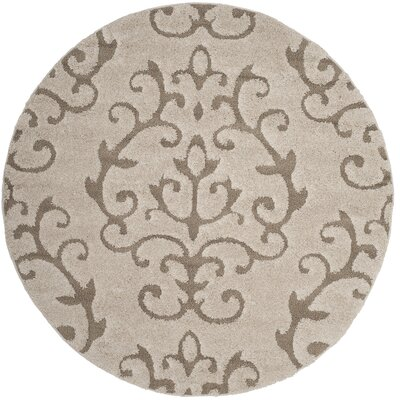 Blaris Cream/Beige Area Rug Rug Size: Rectangle 53 x 76