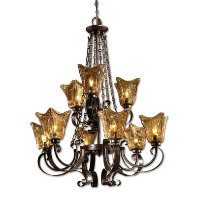 Constantine 9-Light Shaded Chandelier