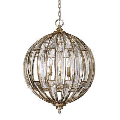 Wembley 6-Light Globe Pendant