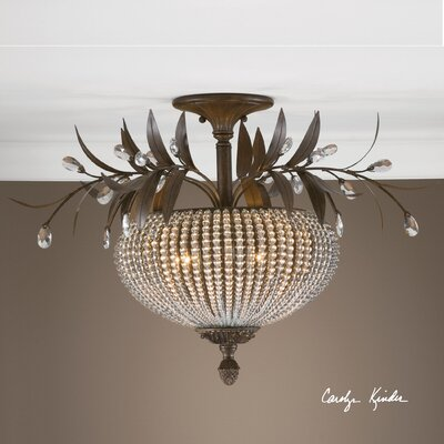 Missenden 3-Light Semi Flush Mount