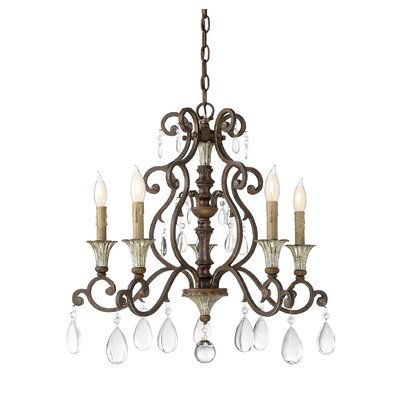 Fairgrove 5-Light Candle-Style Chandelier