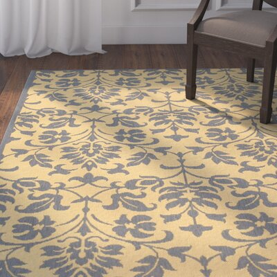 Beasley Natural/Blue Indoor/Outdoor Area Rug