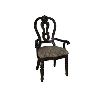Cavas Arm Chair (Set of 2) Finish: Cognac