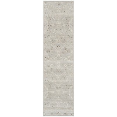 Attamore Silver Area Rug Rug Size: Runner 22 x 8