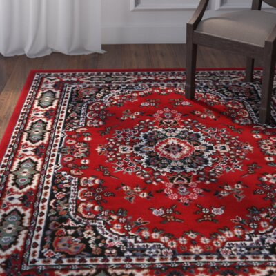 Lilly Claret Area Rug Rug Size: Runner 19 x 72