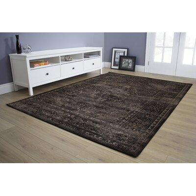 Akins Taupe Area Rug Rug Size: 57 x 710