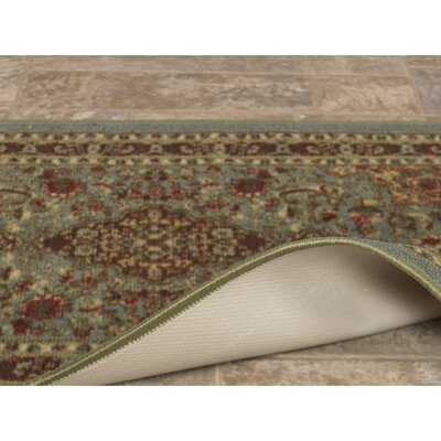 Ryan Sage Green Area Rug Rug Size: Rectangle 5 x 66