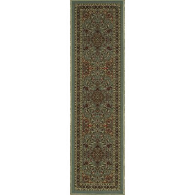 Ryan Sage Green Area Rug Rug Size: Runner 11 x 7