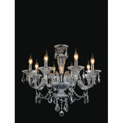 Zac 8-Light Candle-Style Chandelier
