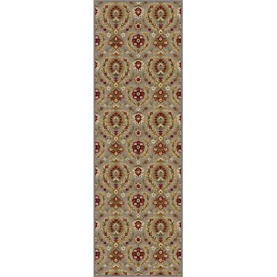 Barbarra Light Blue Area Rug Rug Size: Runner 27 x 73