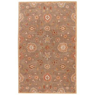 Alfey Brown Area Rug Rug Size: 96 x 136